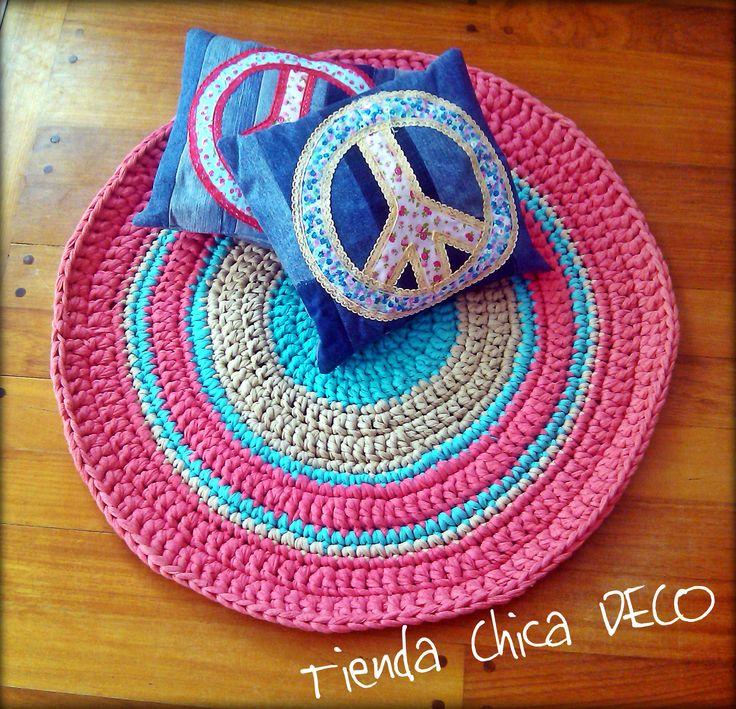 Alfombras tejidas de totora tienda chica deco pinterest for Alfombras de hilo