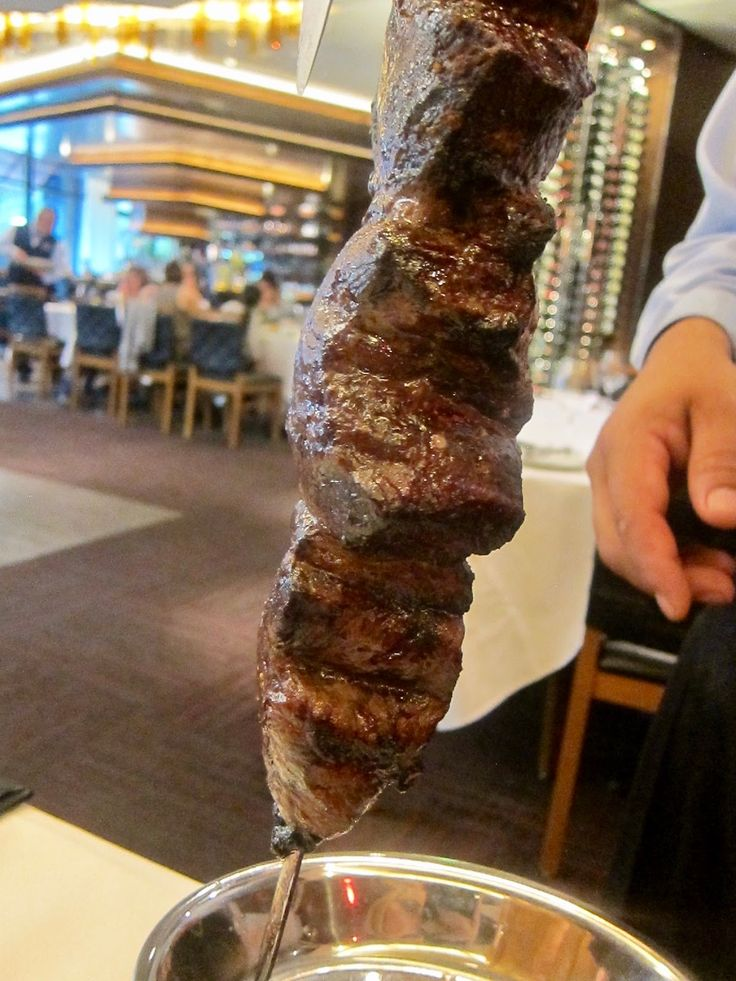 Fogo de Chão, a churrascaria (Brazilian steakhouse) known and loved globally, was founded in 1979 in Porto Alegre, Brazil, and expanded into the U.S. in 1997 (they chose Dallas for their first U.S. location).  In a full circle kind of fashion, the upscale Brazilian restaurant chain recently opened a new location on the ground floor of One Uptown in Dallas.