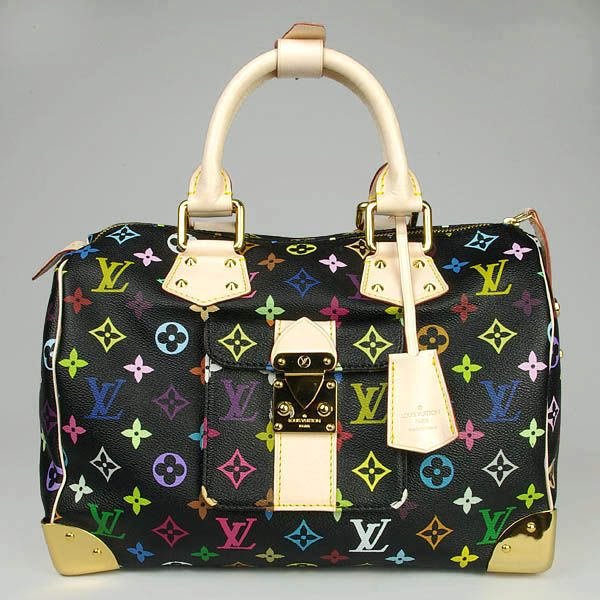 Louis Vuitton Multicolor Speedy-and I want one of these too.