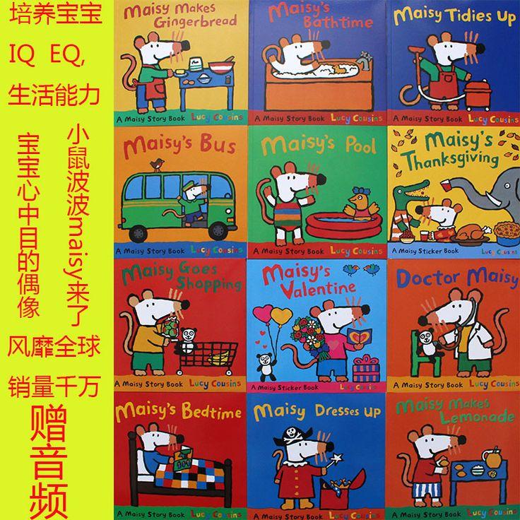 Мейзи волны мышей иллюстрированная книга детская история книги 12 шт./лоткупить в магазине Book WorldнаAliExpress