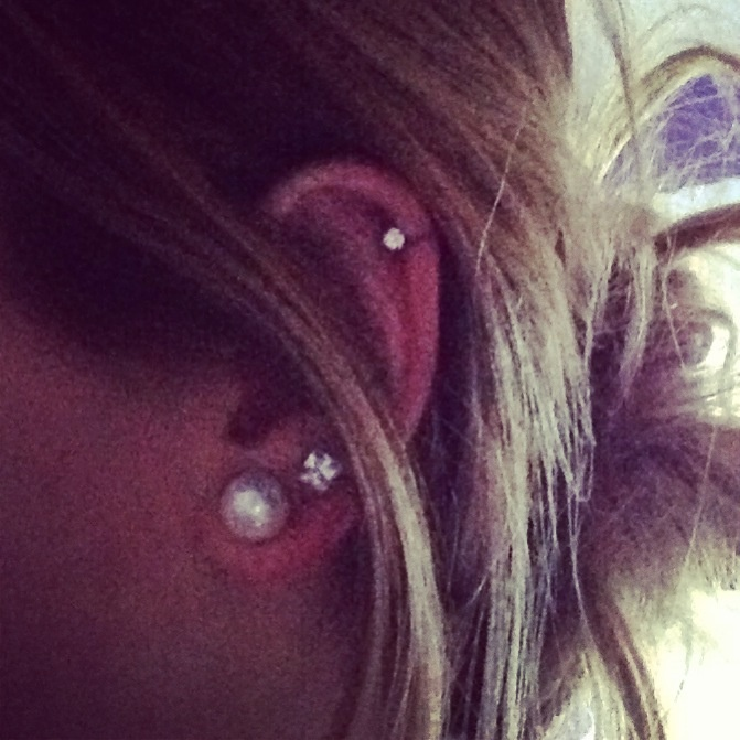 Once my cartilage piercing heals up I'm getting a second ...