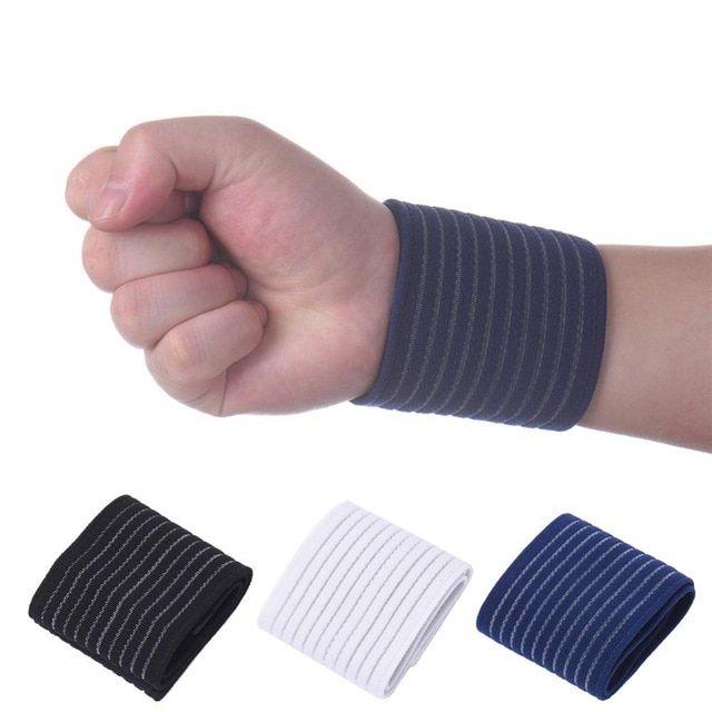 Sport Cotton Fitness Elastic Bandage Hand Wrist Strap Wrap Sport