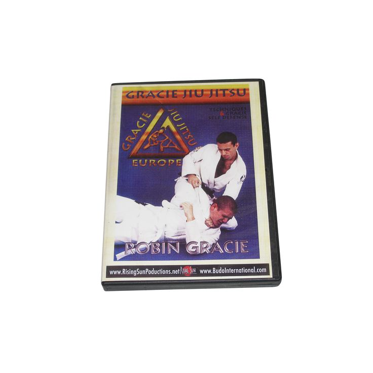 Robin Gracie Brazilian Jiu Jitsu Throwing Techniques Self Defense DVD MMA judo