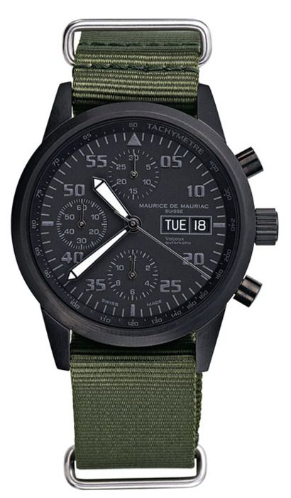Nice Black Watch. Very 1960 service man in the olive band and military black face.