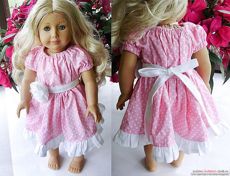 Кукольное платье в стиле кантри своими руками – подробная инструкция с выкройкой и пошаговыми фотографиями. Фото №1