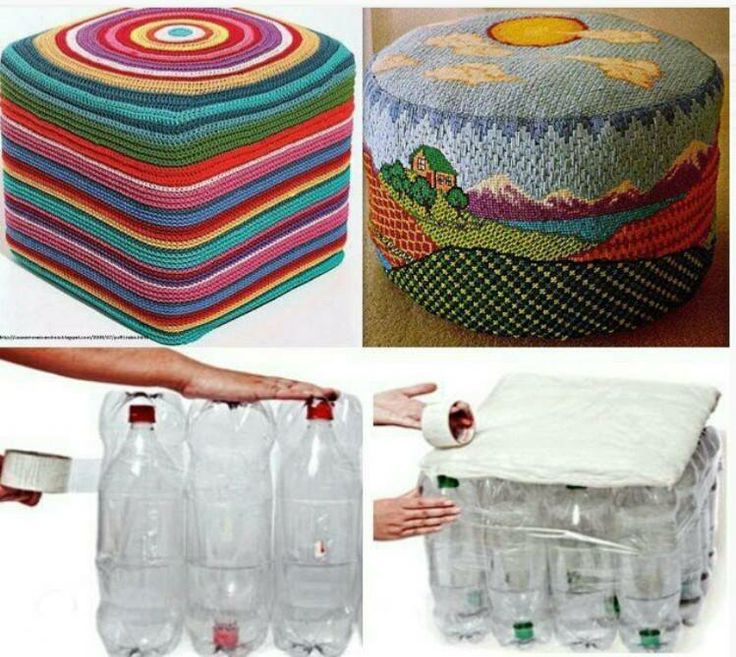 Puf  reciclable