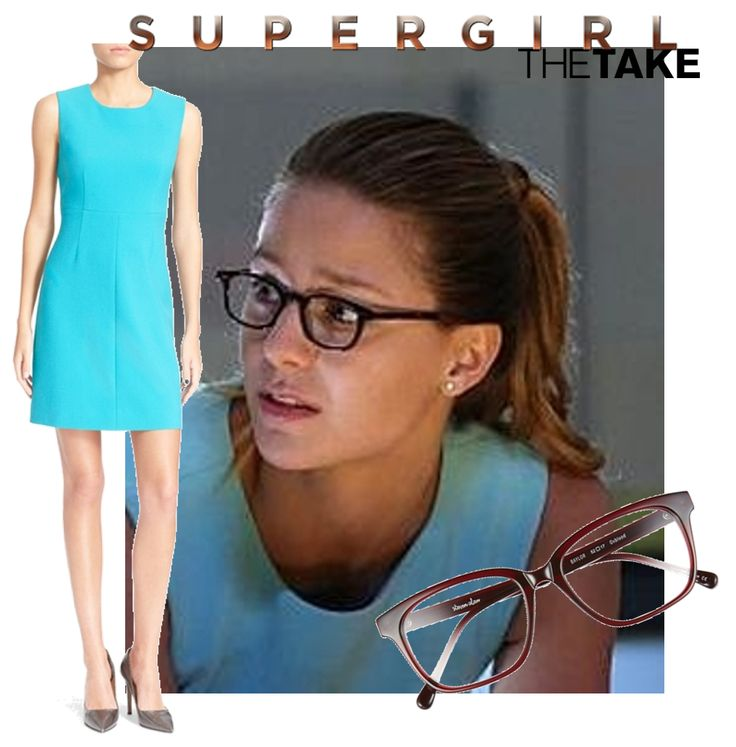 Kara Danvers aka Supergirl wears this Diane von Furstenberg 'Carrie' Sleeveless Sheath Dress in Supergirl on CBS. Find more of her looks at TheTake.com