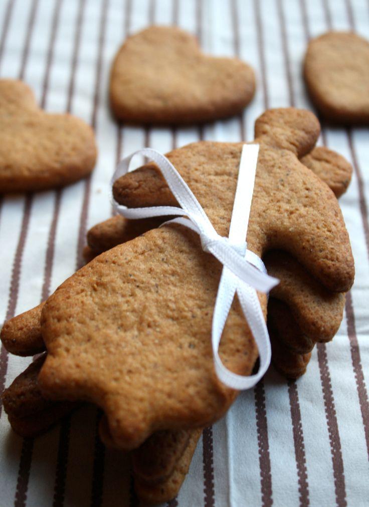 Sukkerfri, sprø pepperkaker