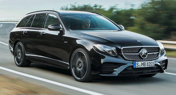 Merc's E-Class Estate GLC Coupe Gain New Engines In UK
