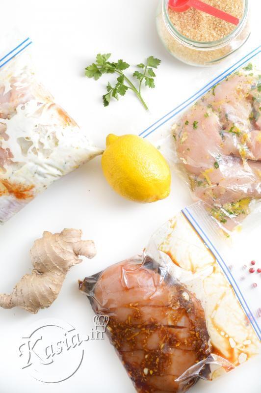 Przepisy na trzy ulubione marynaty do kurczaka. Można zamrozić w marynacie.