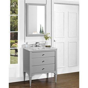 "Fairmont Designs Charlottesville 30"" Vanity - Light Gray | Free Shipping"
