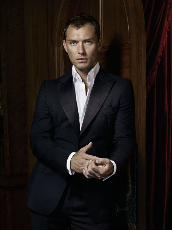 Jude Law-One of the best looking men in a suit