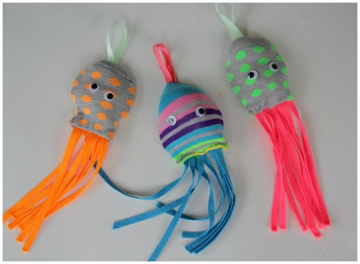 Kids Craft: Sock + Octopus = Socktopus!