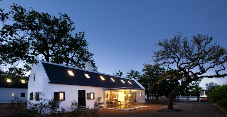 Babylonstoren fuses classic Cape Dutch architecture dating from the 1600s with modern steel and glass