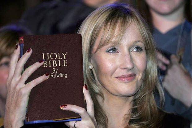What!!!!!!!!!The latest PR coup for Pope Francis has seen him hire famous and revered children's author JK Rowling to rewrite the Bible. It is hoped the author, most famous for her Harry Potter series, can make it more accessible and believable for a new generation of Catholics and Christians....Oh no ,no ,no and no!!!!!!!!!