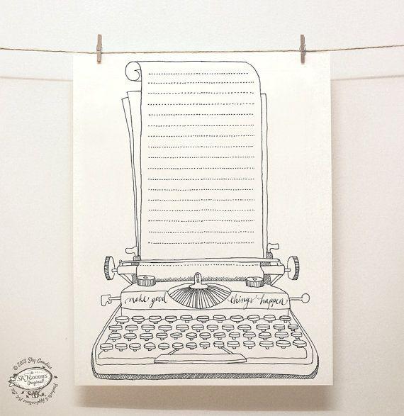 DOODLE Note Paper Sheets: Set of 4 Unique Designs   Creative Ruled Pages / Organizers   Reusable Printable Letter Size pdf Templates