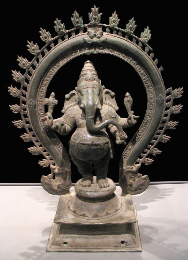 Ganesha,bronze sculpture.  Asian Art Museum of S.Fo.