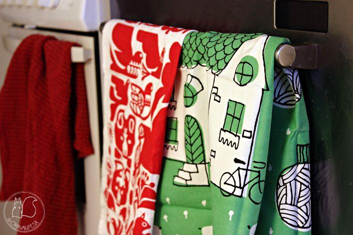 Oravanpesä | Pyyhkeet design Sanna Annukka/Marimekko ja Lisa Jones Studio