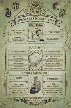 Hogwarts School List   – EMP