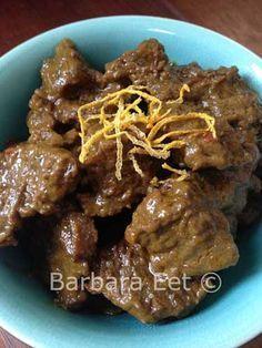 Dit is een heerlijk recept voor lekker pittig Indisch stoofvlees. Zorg dat je genoeg maakt, het is binnen no-time op!