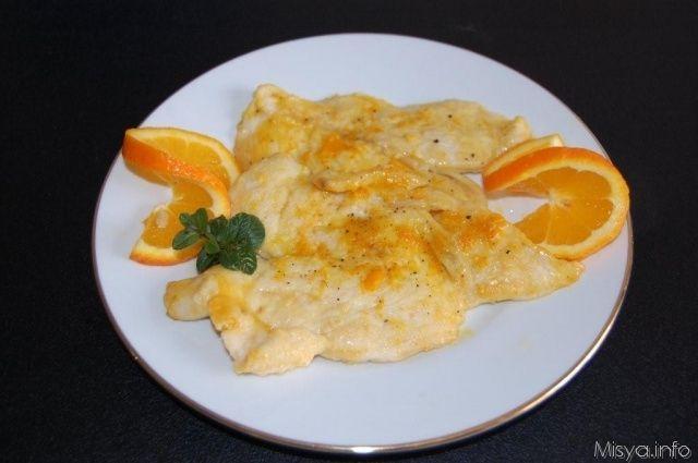 Petto di pollo all'arancia. Scopri la ricetta: http://www.misya.info/2011/02/23/petto-di-pollo-allarancia.htm