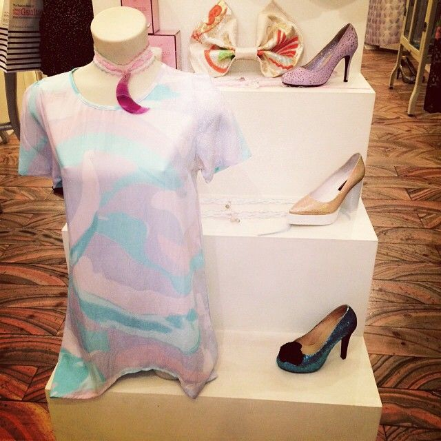 Pastel prettyness at @lady_petrova #wndlnd #ladypetrova #melbourne #alleyway #shopping #cute #pastel #designer #local #melb