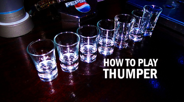 Drinking Games: How to Play Thumper - click to find out!