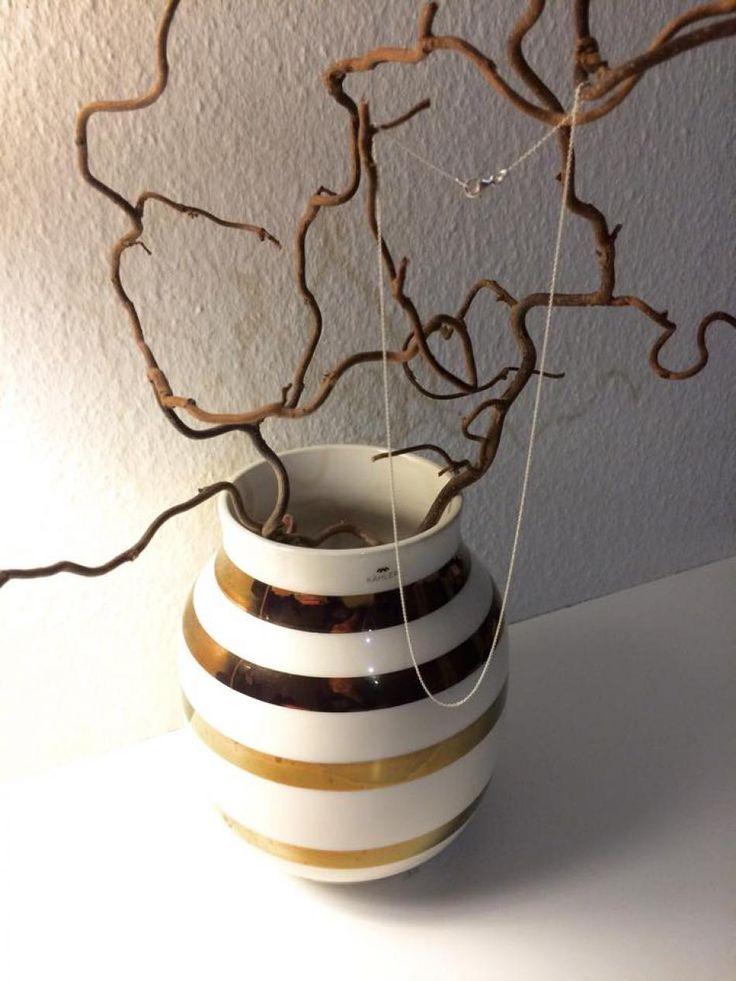 Sølvkæde møder Kähler vase <3