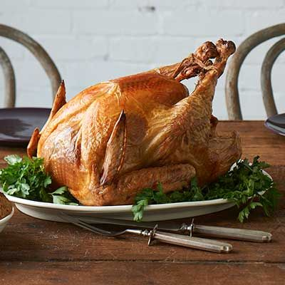 Looking for the hands-down easiest, best way to make your Thanksgiving turkey? Search no further! Brining for 3 days yields a bird that'll stay moist when roasted. - Visit PaneraBread.com for more inspiration.