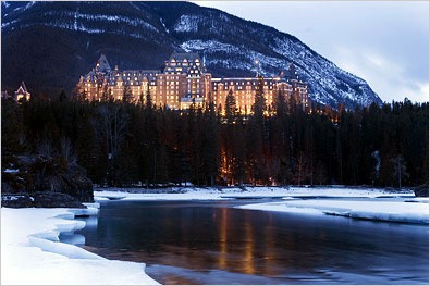 Fairmont Banff Springs.