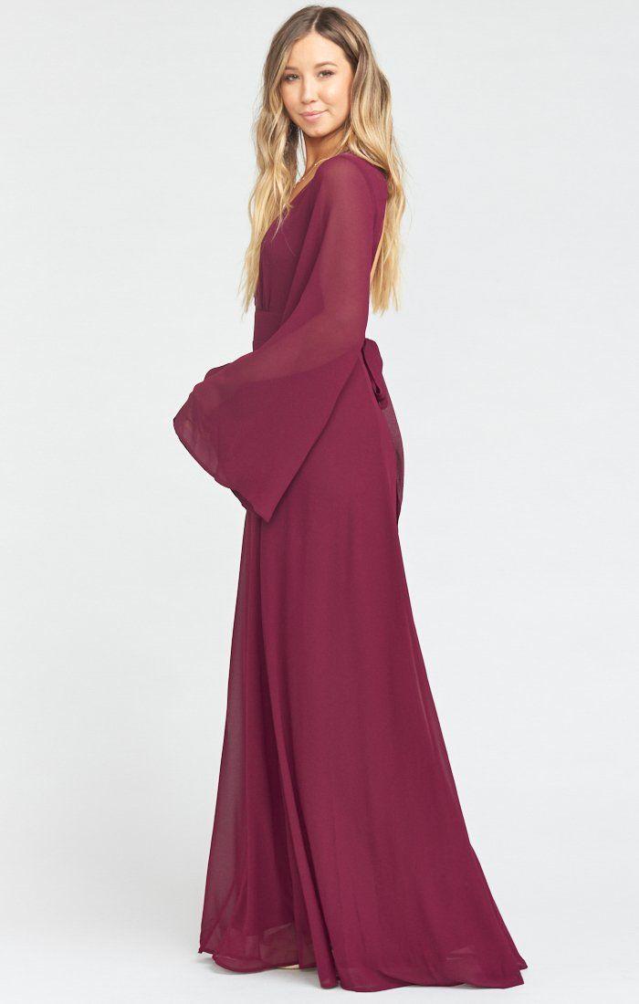 Venus Long Sleeve Flare Dress Steel Blue Chiffon Simple Long Sleeve Dress Flare Dress Dresses