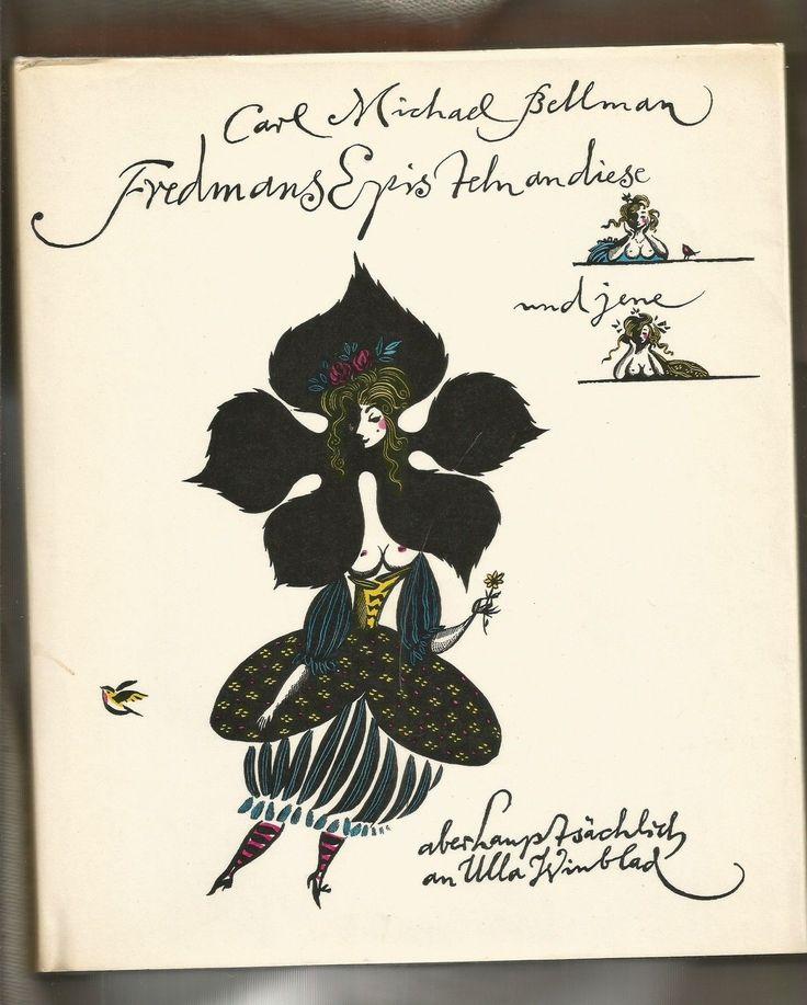 C. M. Bellman: Fredmans Episteln an diese u. jene... - Illustr. Werner Klemke :: Leipzig, Reclam Verlag 1978