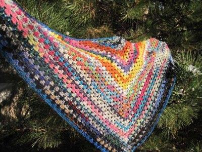 This Easy Crochet Shawl was shared by Designs by KNfor Knit and Crochet Blog Week. You can find the crochet pattern on her website.Crochet Blog, 2012 Crochet, Blog Weeks, Scrap Yarns Crochet, Socks Yarns, Yarns Shawl, Crochet Shawl Trees Jpg, Crochet Pattern, Crochetshawltreejpg 600450