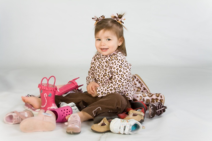 Lil Girlie and her shoes by Portrait Creations, David Frank