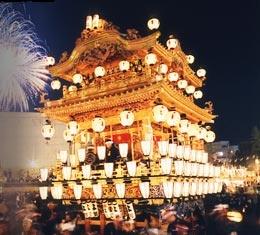 Chichibu Yomatsuri (Night Festival) - one of the few wintertime fireworks festivals in Japan.