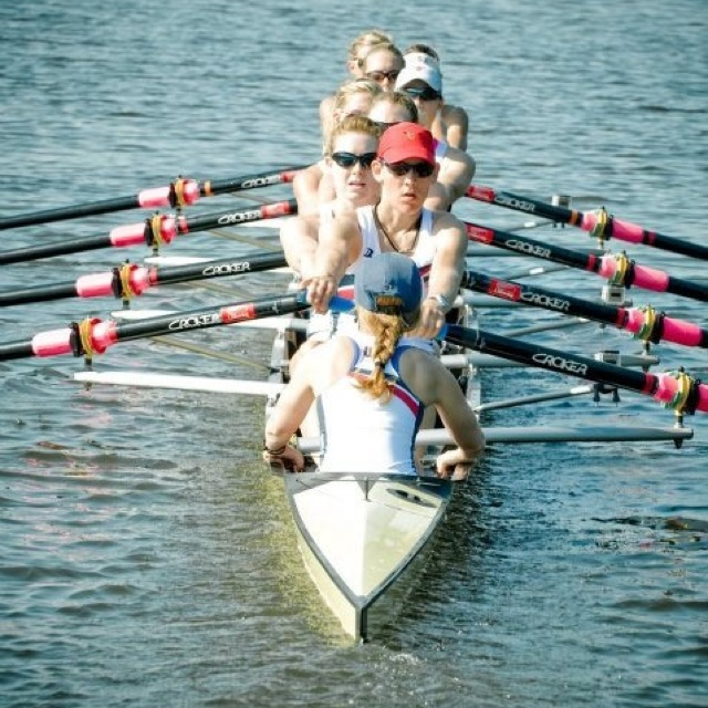 2012 US Women's Olympic Rowing Crew-Row to London. Look at that twist and reach!