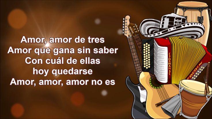 Amor De Tres El Poder Vallenato - English Translation - Osman Vargas | Song Lyrics