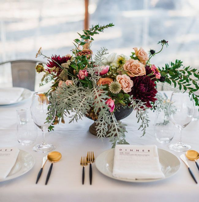 modern white tablescapes