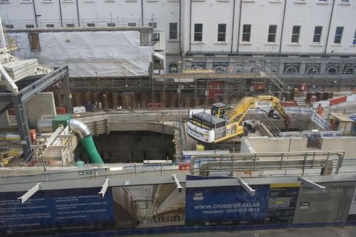 Photos of the Crossrail Station at Paddington
