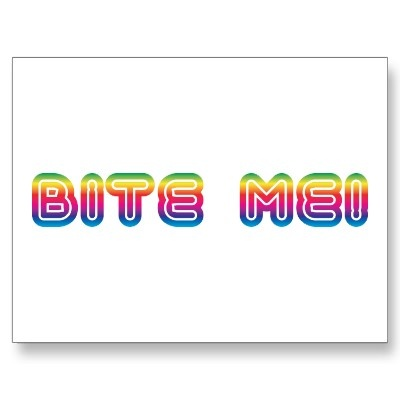 what does bite me mean urban dictionary