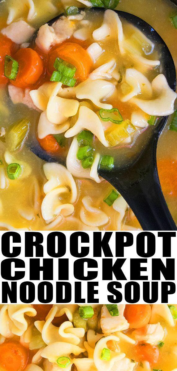 Slow Cooker Chicken Noodle Soup Recipe Quick Easy Home Slow Cooker Chicken Noodle Soup Recipes Slow Cooker Chicken Noodle Soup Chicken Noodle Soup Crock Pot