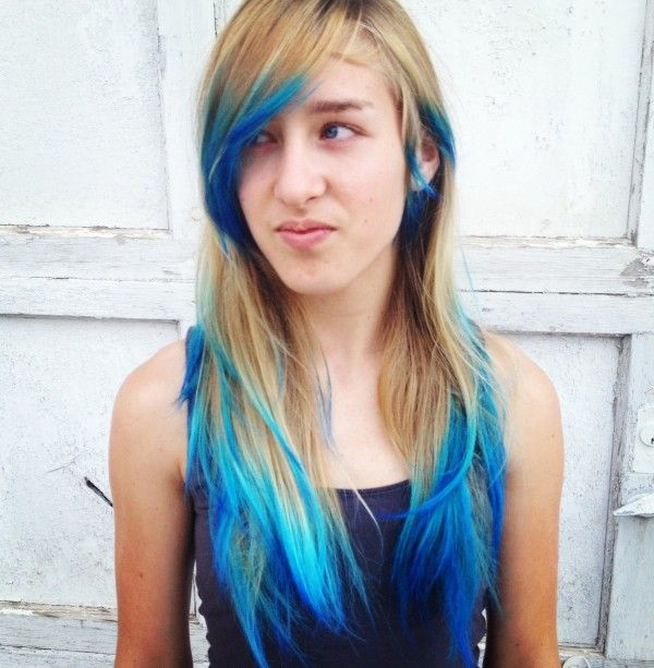Hairstyle mermaid hair hair ombre hair meaning how to do for What does ombre mean