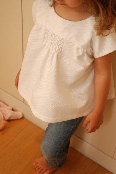 customizing with oliver + s: adding honeycomb smocking to the ice cream blouse | Blog | Oliver + S