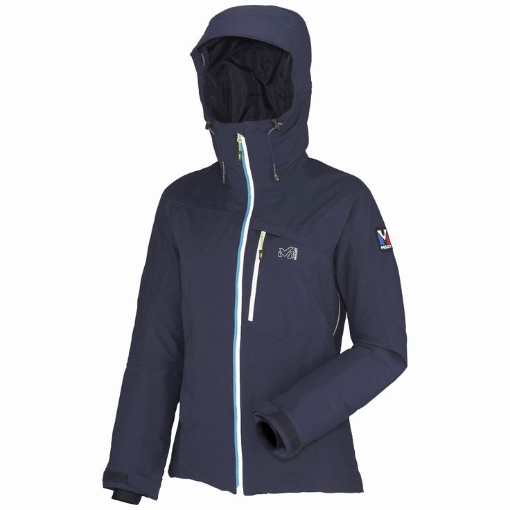 """With its active """"alpine"""" fit, this Trilogy Gore-Tex Pro jacket is designed for women and built to deliver protection in even the foulest weather. Gore-Tex Pro is a reference material in weather protection: The waterproof breathable fabric protects you from wind, rain and snow. This 3-layer fabric is the most breathable of the Gore-Tex membranes and its outer face has enhanced durability while its inner face is lighter. This jacket is a complete barrier in challenging environments, with fully…"""