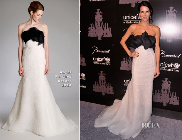 Angie Harmon In Angel Sanchez – 9th Annual UNICEF Snowflake Ball