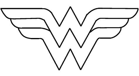 Wonder Woman Logo Printable Wonder Women Graduates Pinterest