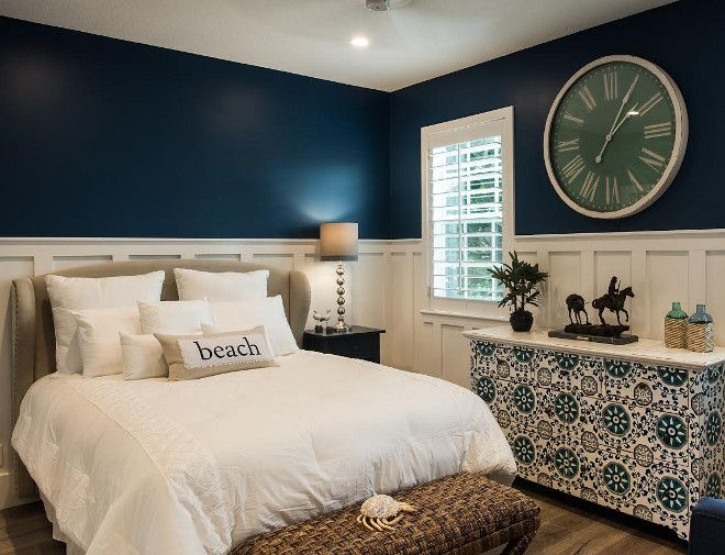 Paint Color Is Naval SW6244 By Sherwin Williams. Fresh Coastal Home Design  Ideas And Paint