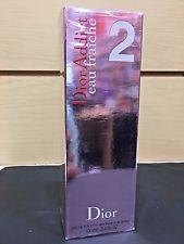 Dior Addict 2 Eau Fraiche Women Perfume EDT Spray 3.4 oz / 100 ml NIB Sealed