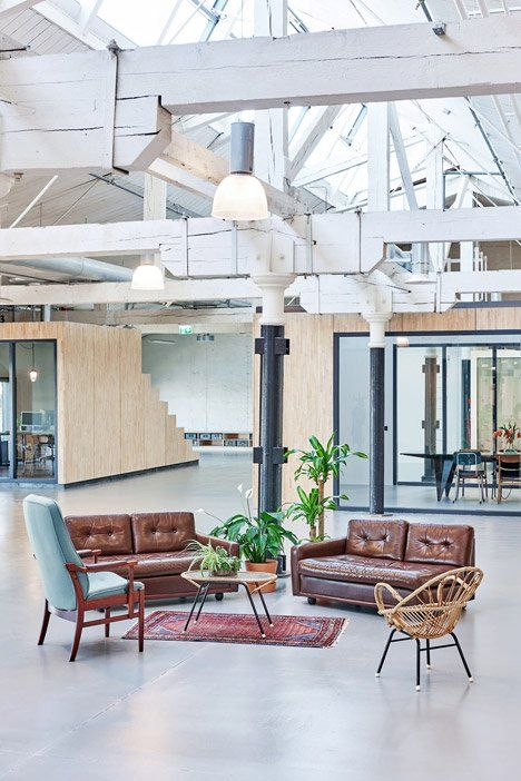 Offices with reuse interiors - Fairphone Head Office, Amsterdam by Melinda Delst