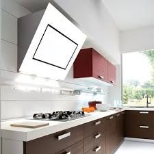 """Falmec/Airmec Hoods FDQWH36W5SG Quasar Wall hood 36""""/90cm 500cfm-White Glass Touch through glass electronic control 4 speed delayed shut off clean filter reminder 2 Halogen lamps 2 X 20 W - Ducted or ductless version. (M-2) - Watershed Appliance"""